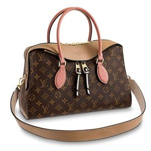Auth Rare Louis Vuitton Monogram Pink Satchel